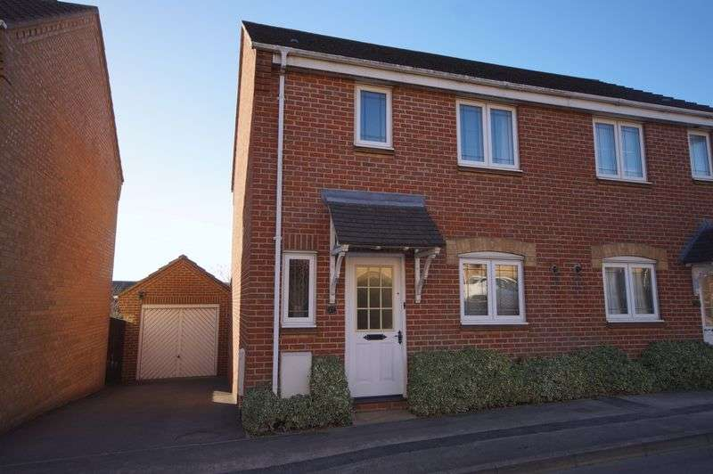 3 Bedrooms Semi Detached House for sale in Caer Peris View, Portchester, PO16