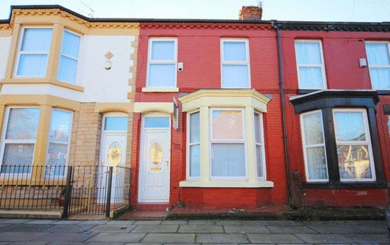 3 Bedrooms Terraced House for sale in Cardigan Street, Wavertree, Liverpool, L15