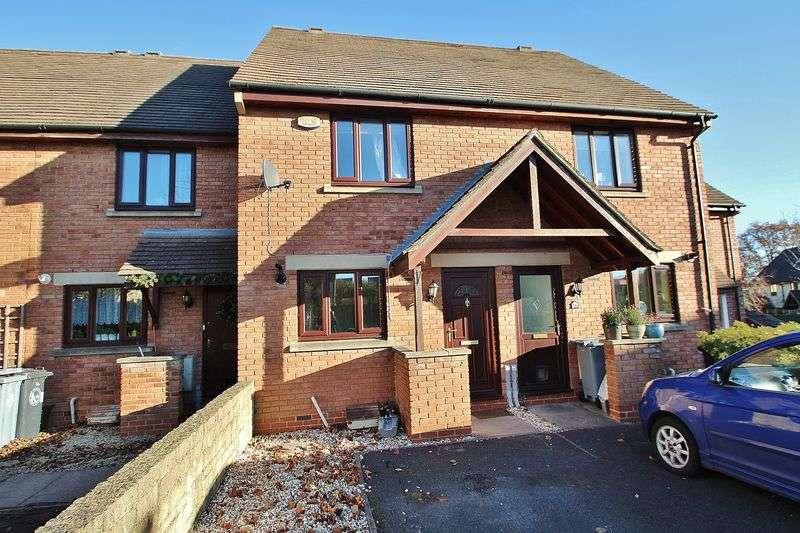 2 Bedrooms Terraced House for sale in FARMINGTON DRIVE, Deer Park, Witney OX28 5GJ
