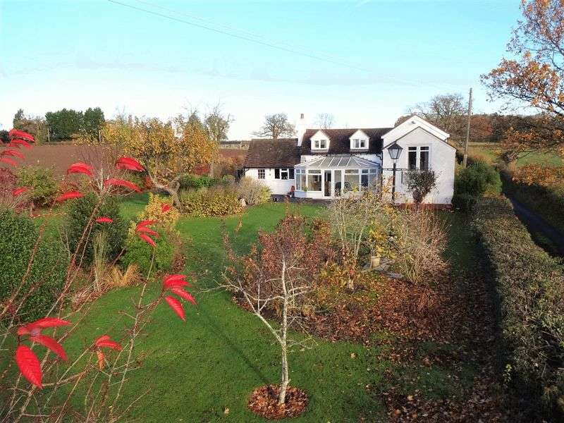 3 Bedrooms Detached House for sale in Witton Hill, nr Martley, Worcestershire