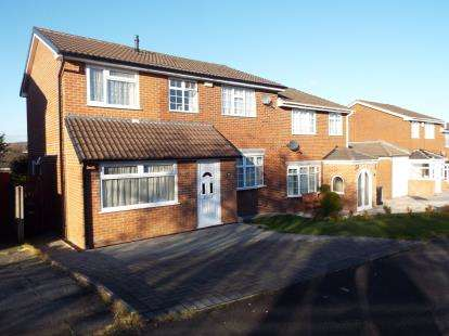 4 Bedrooms Semi Detached House for sale in Braeside Grove, Bolton, Greater Manchester, BL3