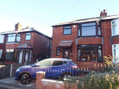 3 Bedrooms Semi Detached House for sale in Scott Road, Prestwich, Manchester, Greater Manchester