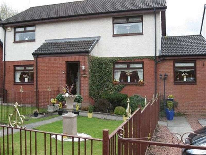 3 Bedrooms Semi Detached House for sale in Wards Crescent, Langloan, Coatbridge