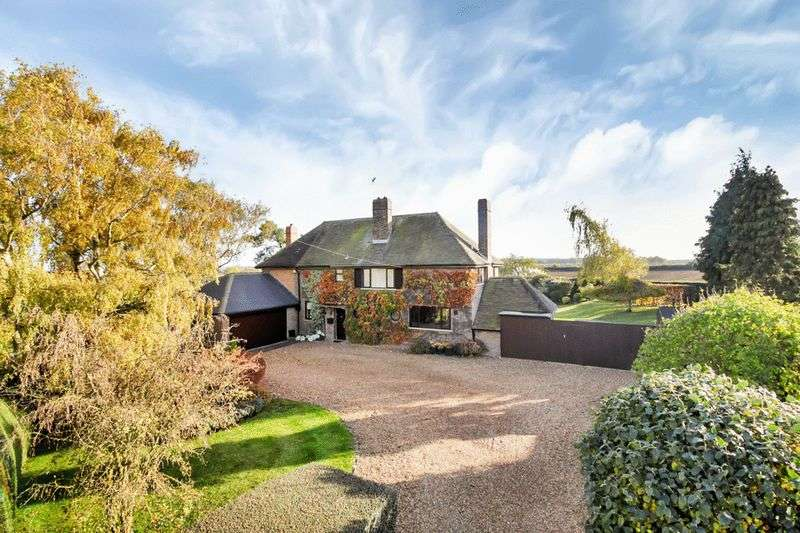 5 Bedrooms Detached House for sale in Pudding Bag Lane, Pilsgate, Stamford, Lincolnshire