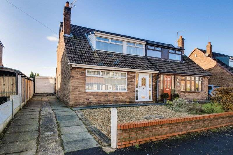 3 Bedrooms Semi Detached House for sale in Ashdale Road, Hawkley Hall