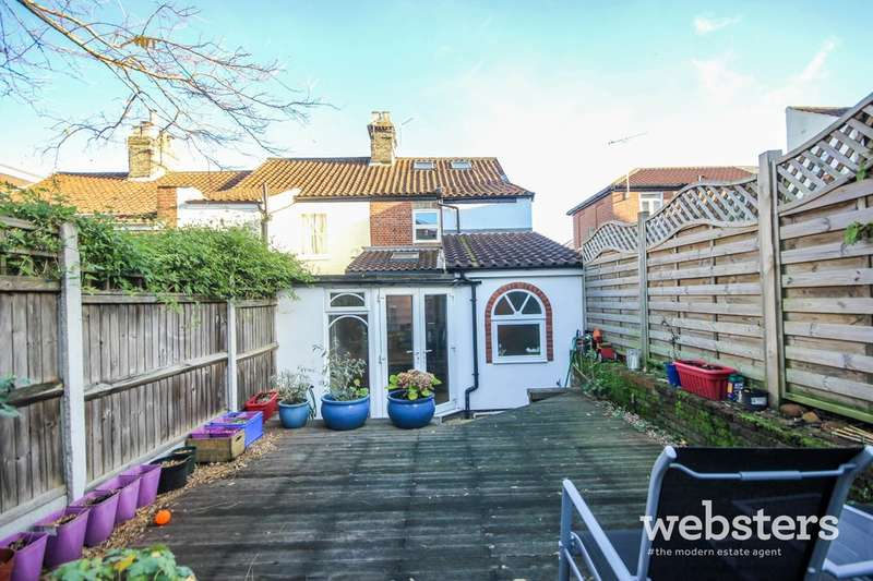 4 Bedrooms End Of Terrace House for sale in Wellington Road, Norwich, NR2
