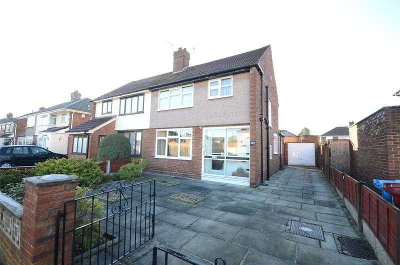 3 Bedrooms Semi Detached House for sale in Oakwood Road, Halewood, Liverpool, L26