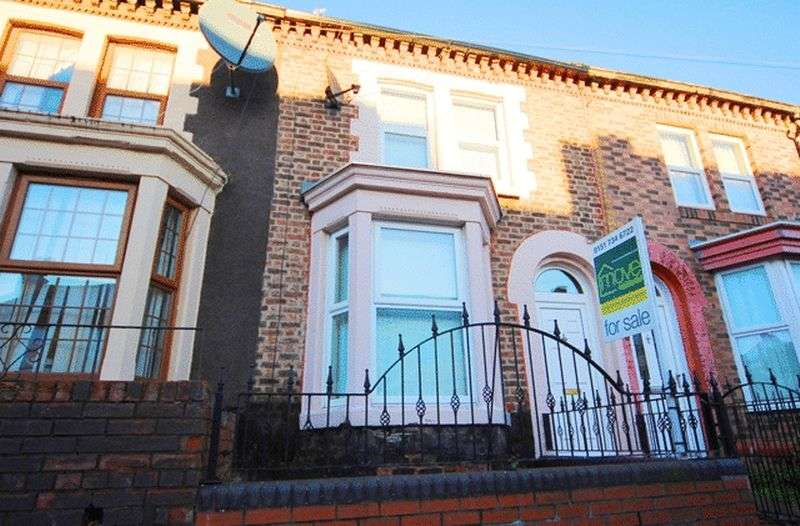 3 Bedrooms Terraced House for sale in Vandyke Street, Toxteth, Liverpool, L8