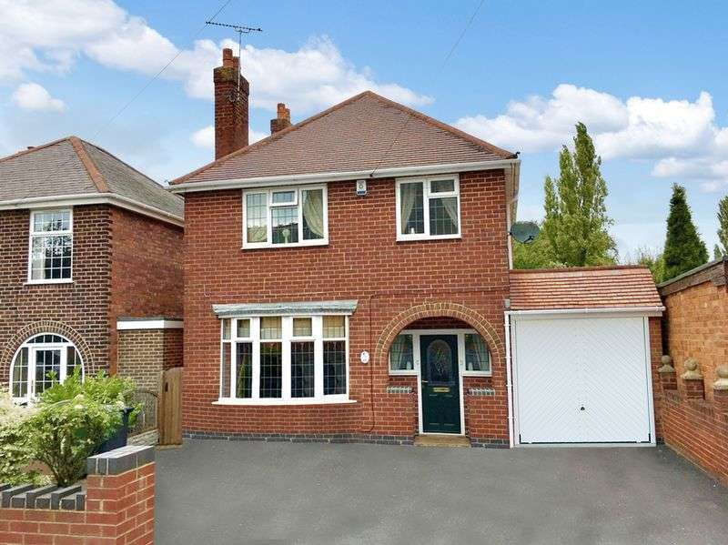 3 Bedrooms Detached House for sale in York Road, Church Gresley