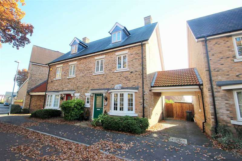 4 Bedrooms Town House for sale in Apprentice Drive, Braiswick, Colchester