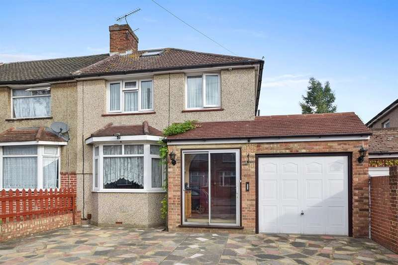 4 Bedrooms End Of Terrace House for sale in Princes Park Avenue, HAYES, UB3