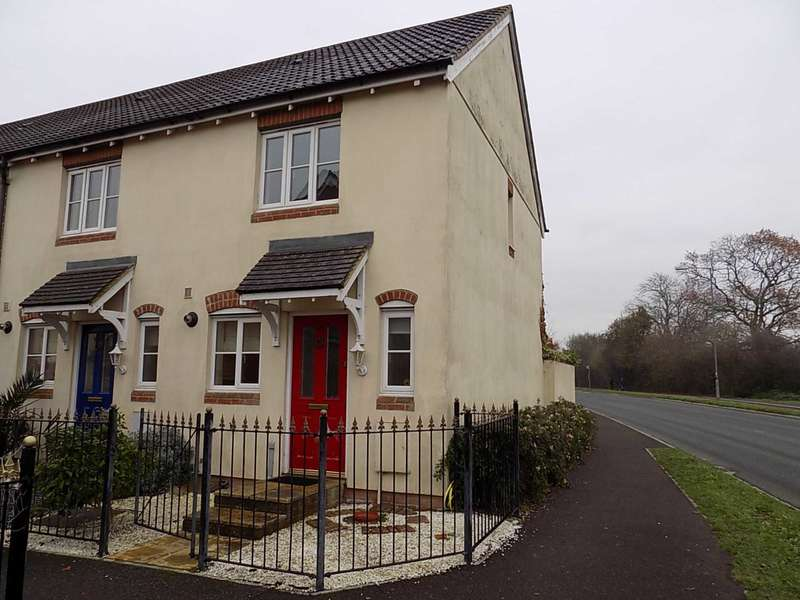 2 Bedrooms End Of Terrace House for sale in Canal Way, Ilminster