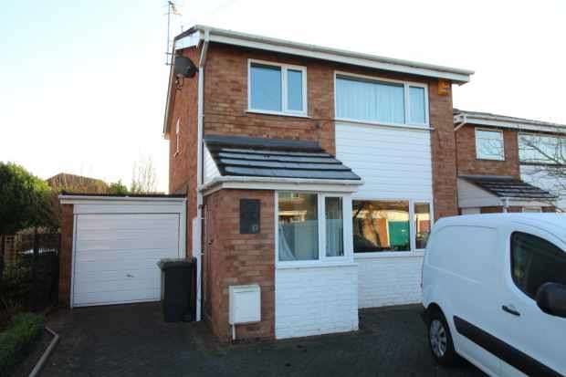 3 Bedrooms Link Detached House for sale in Longfellow Road, Worcester, Hereford And Worcester, WR3 8DZ