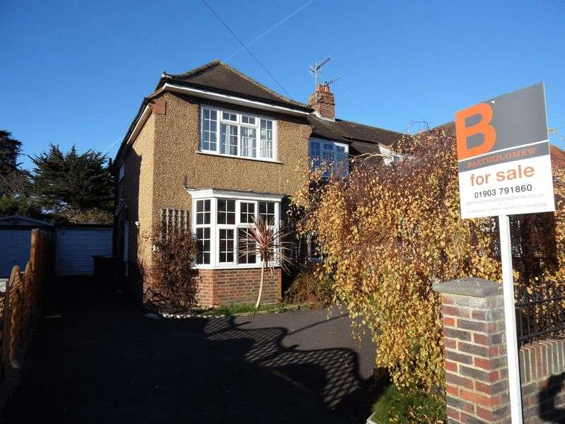 3 Bedrooms Semi Detached House for sale in Offington Drive, Worthing