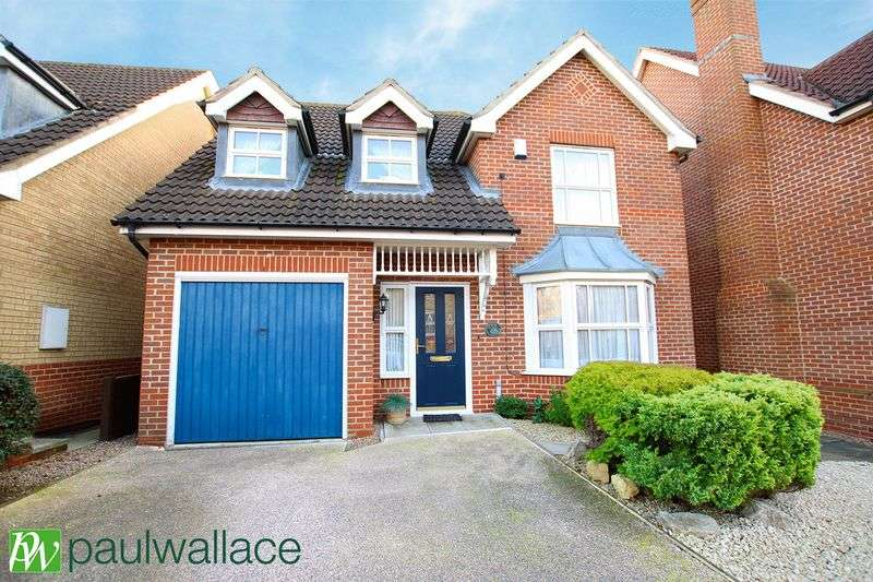 4 Bedrooms Detached House for sale in Jepps Close, West Cheshunt