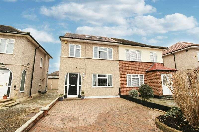 4 Bedrooms Semi Detached House for sale in Weymouth Road, Hayes