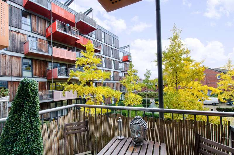 1 Bedroom Flat for sale in % Equity Share Queensbridge Road, Haggerston, E2