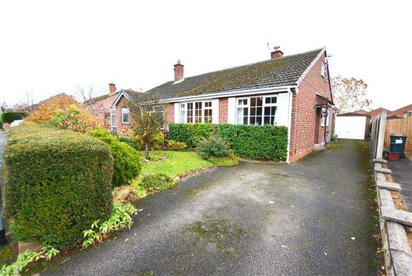 3 Bedrooms Semi Detached Bungalow for sale in Ferndown Drive, Clayton, Newcastle-under-Lyme