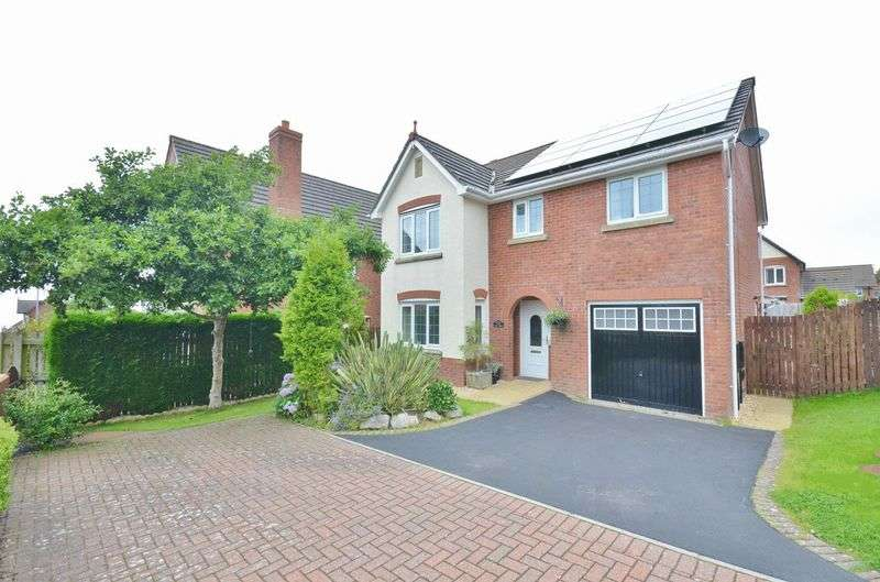 4 Bedrooms Detached House for sale in Fern Grove, Whitehaven
