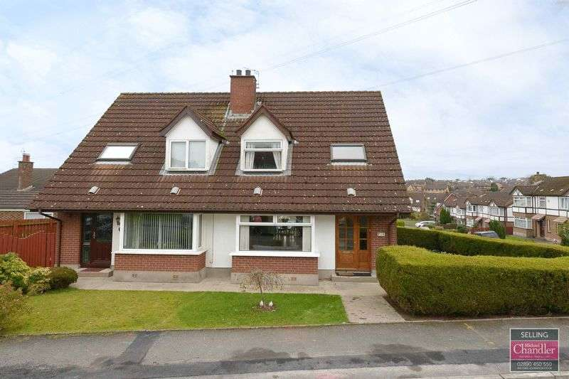 3 Bedrooms Semi Detached House for sale in 16 Finsbury Avenue, Belfast, BT8 6GW
