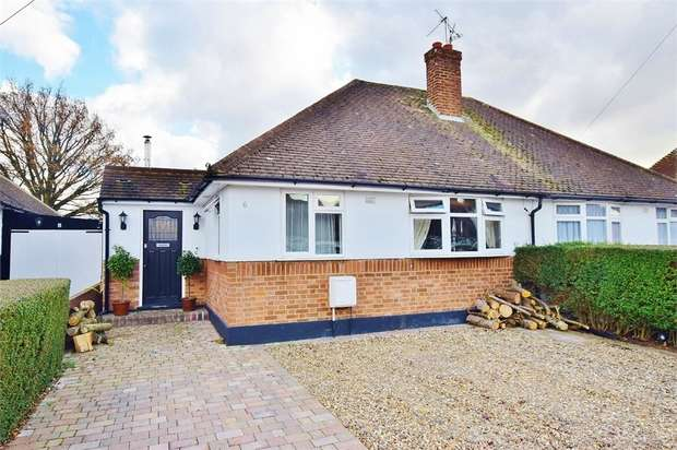 4 Bedrooms Semi Detached Bungalow for sale in Highwood Avenue, BUSHEY, Hertfordshire