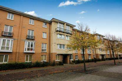 2 Bedrooms Flat for sale in Aprilia House, Ffordd Garthorne, Cardiff, Caerdydd