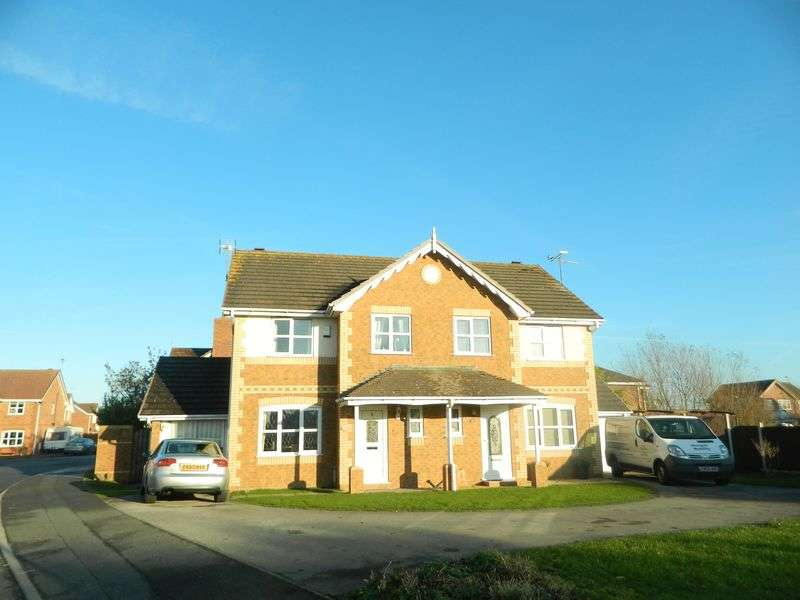 3 Bedrooms Semi Detached House for sale in Parc Morfa, Kinmel Bay