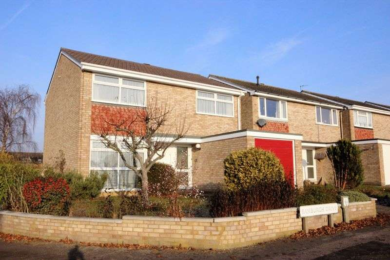 4 Bedrooms Detached House for sale in Bamburgh Drive, Putnoe, Bedford