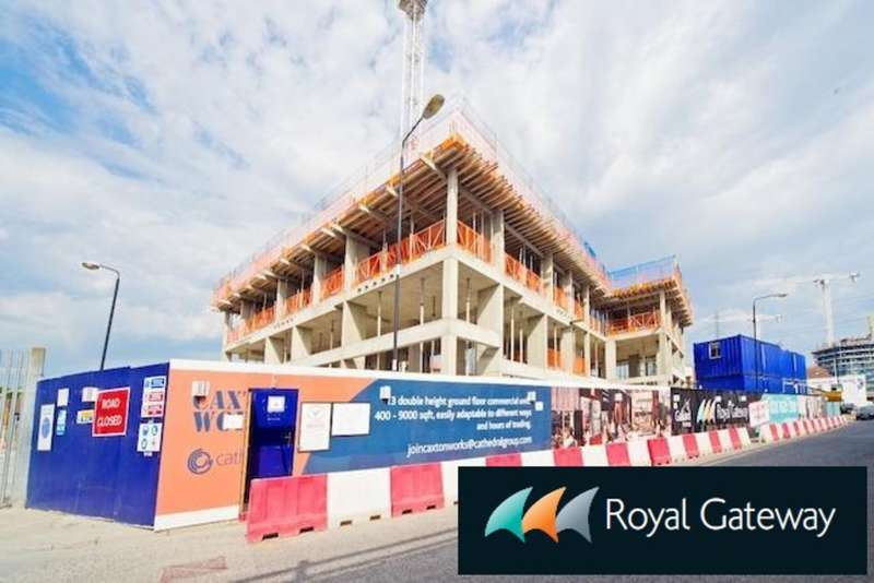 1 Bedroom Apartment Flat for sale in New Build RESALE - Royal Gateway, Royal Docks, E16