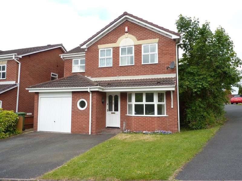 4 Bedrooms Detached House for sale in Hemsworth Way, Shrewsbury