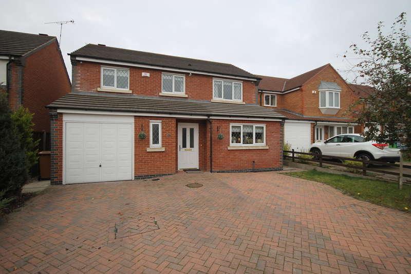4 Bedrooms Detached House for sale in Florian Way, Hinckley