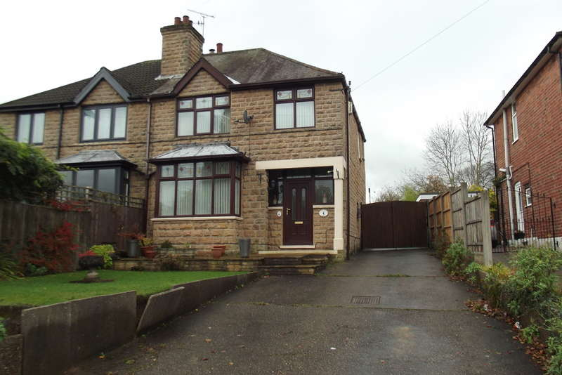 3 Bedrooms Semi Detached House for sale in Nottingham Road, Hucknall