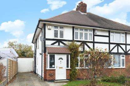 3 Bedrooms Semi Detached House for sale in Croydon Road, West Wickham