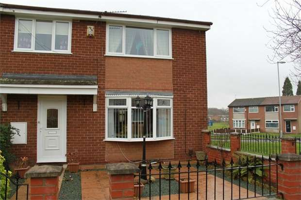 3 Bedrooms End Of Terrace House for sale in Platt Walk, Denton, Manchester
