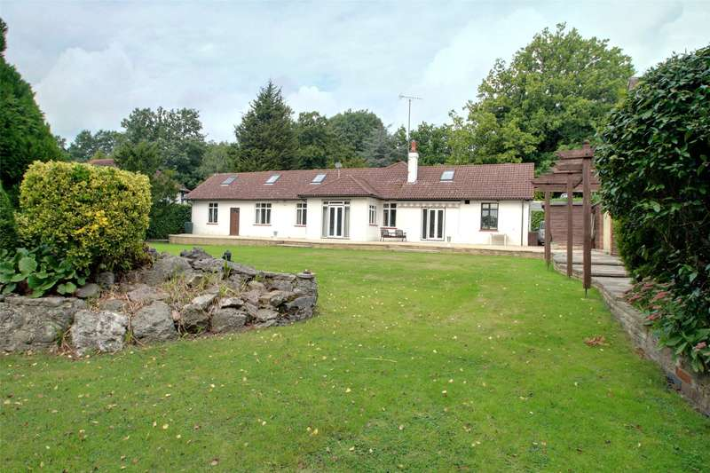 5 Bedrooms Detached Bungalow for sale in Ruxbury Road, Chertsey, Surrey, KT16