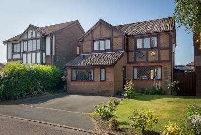 4 Bedrooms Detached House for sale in Heatherway, Fulwood, Preston, Lancashire