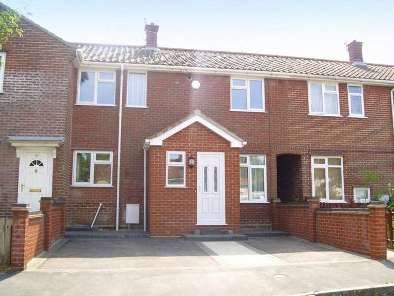 3 Bedrooms Terraced House for sale in Brightwell Road, Norwich