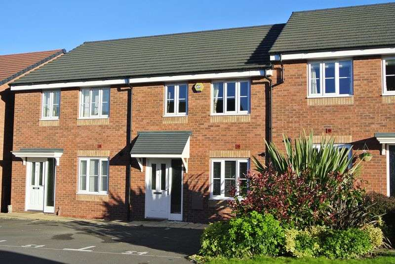 3 Bedrooms Terraced House for sale in Cloisters Way, St Georges, Telford, Shropshire.