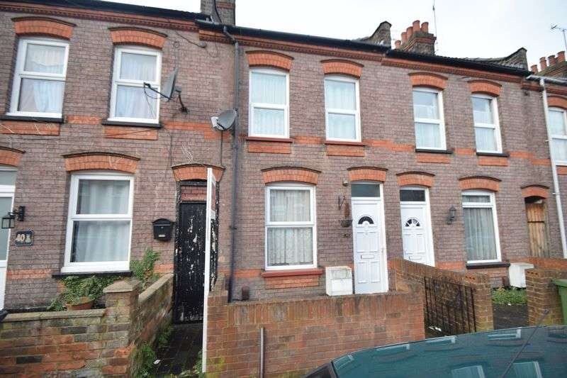 2 Bedrooms Terraced House for sale in Naseby Road, Luton