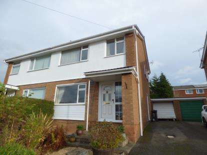 3 Bedrooms Semi Detached House for sale in Mountain View Avenue, Mynydd Isa, Mold, Flintshire, CH7