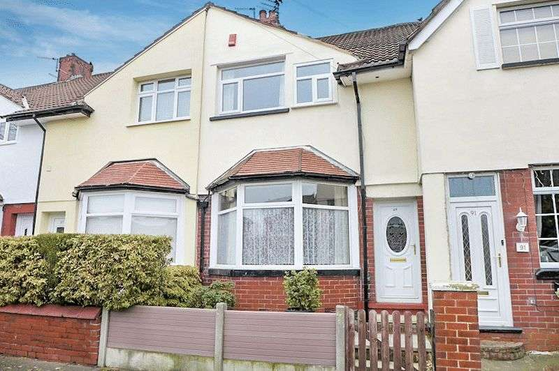 2 Bedrooms Terraced House for sale in Merton Road, Prestwich