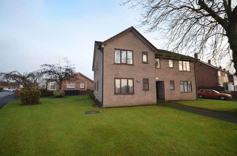 1 Bedroom Flat for sale in 1 Broadfield Court, Holts Lane, Poulton-Le-Fylde Lancs FY6 8BU
