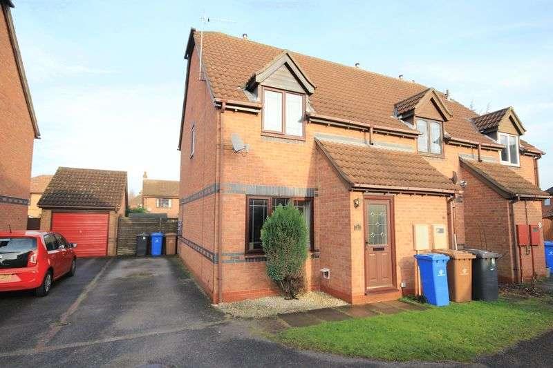 2 Bedrooms Terraced House for sale in TROWBRIDGE CLOSE, OAKWOOD