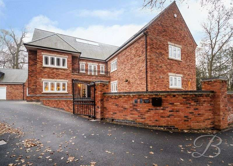 5 Bedrooms Detached House for sale in Lichfield Lane, Mansfield