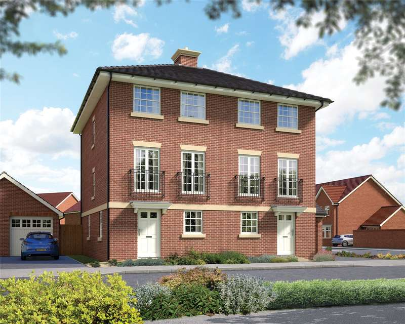 3 Bedrooms Semi Detached House for sale in Hatchwood Mill, Wokingham, Berkshire, RG41