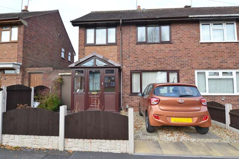 3 Bedrooms Semi Detached House for sale in Masefield Drive, Stafford