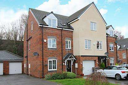 4 Bedrooms Town House for sale in Netherthorpe Lane, Killamarsh, Sheffield, Derbyshire