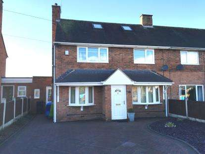 3 Bedrooms Semi Detached House for sale in Giggetty Lane, Wombourne, Wolverhampton, Staffordshire