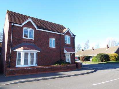 4 Bedrooms Detached House for sale in Rowan Close, Huntington, Cannock, Staffordshire