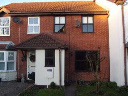 3 Bedrooms Terraced House for sale in Radford Close, Atherstone, Warwickshire